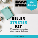 Seller Starter Kit {Launching your TpT store}