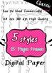 Seller's Bundle -for Commercial Use digital paper - artclip- 300dpi png images