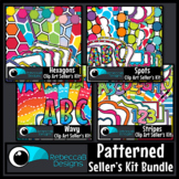 Patterned Clip Art Kits (Bundle)