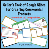 Seller's Pack of Google Slides for Commercial Products