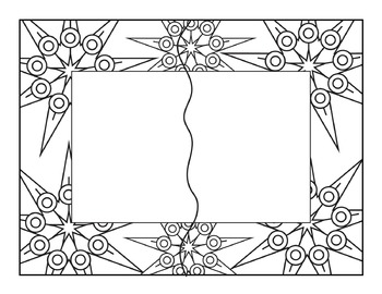 Seller's Tool: Seasons Puzzle Templates and Coloring Pages