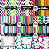 New Sellers Kit Bundle -Digital Paper, Borders, and Frames