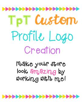 Seller store Logo Profile Bio {Custom Order}