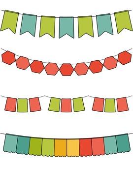 Seller's Kit #3 Teal Clip Art ~ CU OK ~ Borders ~ Paper