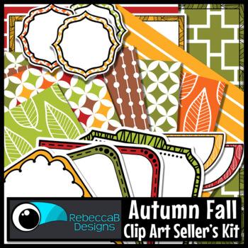 Fall Clip Art Kit