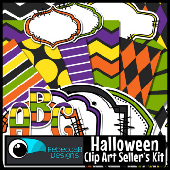Halloween Clip Art Kit