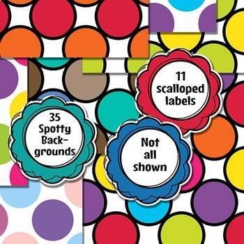 Spots Seller's Clip Art Kit
