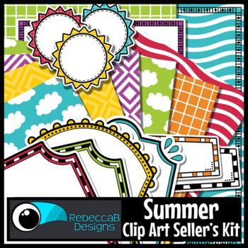 Clip Art Kit Summer