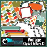 Vintage Seller's Clip Art Kit