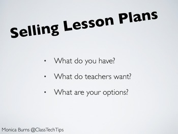 Selling Lesson Plans Online: Ways to Supplement Your Income