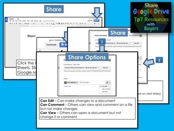 Google Resources Seller's Guide #1: Share Google Drive Products with Buyers