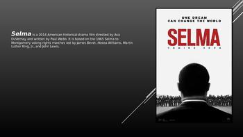 Selma Movie Guide - Accompaniment Power Point (Free)