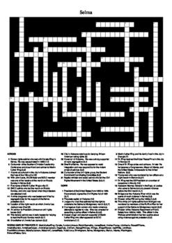 Selma - Crossword Puzzle