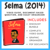 Selma - Document Based Question Bundle (Movie Guide + Essay Outline + DBQ)