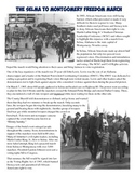 Selma March for Civil Rights Reading, Worksheet, and Inter