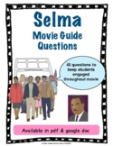 Selma Movie Questions (Civil Rights, Martin Luther King)