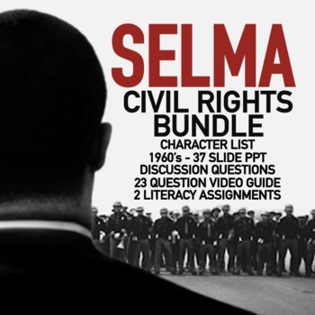English Literature Essays Selma Video Guide Bundle Civil Rights Movement Martin Luther King Jr  Activities Examples Of A Thesis Statement In An Essay also Reflective Essay On High School Selma Video Guide Bundle Civil Rights Movement Martin Luther King Jr  English Essays Book