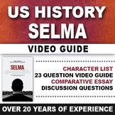 Selma Video Guide Civil Rights Movement 1960's Malcolm X M