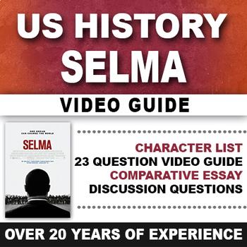 Selma Video Guide Civil Rights Movement 1960's Malcolm X M