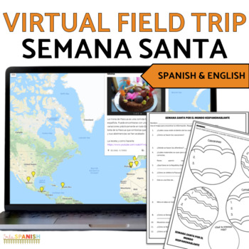 Semana Santa Digital Activities Click to Download! Google Maps in Spanish Class