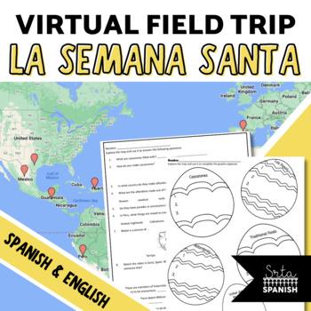 Semana Santa Digital Activities SPANISH AND ENGLISH