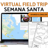 Semana Santa- Webquest, Map, Comprehension ?s, Graphic Organizer