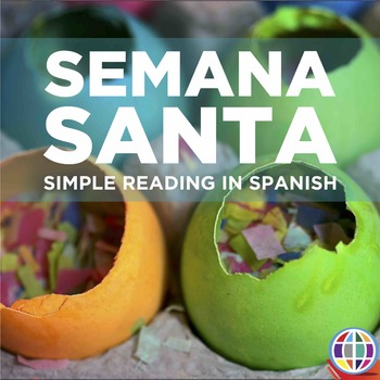 Semana Santa: Basic reading and comprehension activities in Spanish