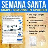 Semana Santa: Basic reading and comprehension activities in Spanish