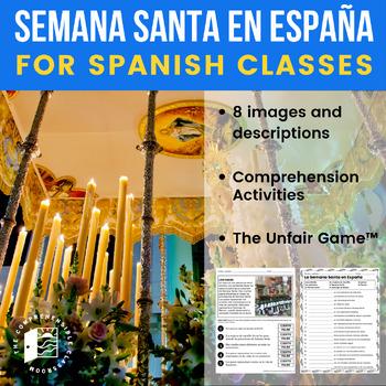 Semana Santa en España: Images with description in Spanish