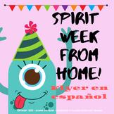 Spirit week from home!