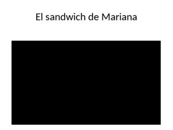 Semana del respeto. No al acoso escolar. Corto de cine. El Sandwich de Mariana.