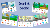 Semantic Associations - Sort-A-Scene Boom Cards