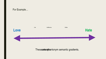 Semantic Gradients