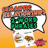 Semantic Relationships (Fall: Agent-Action)