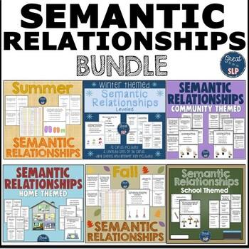 Semantic Relationships- GROWING BUNDLE