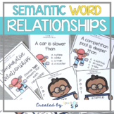 Semantic Relationships: Speech Therapy: Word Relationship
