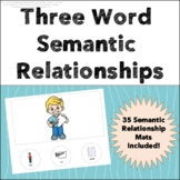 Semantic Relationships - Three Words