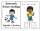 Semantic Relationships - Two Words Interactive Book