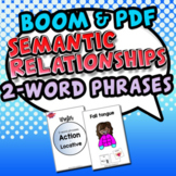 Semantic Relationships (Winter: Action-Locative)