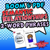 Semantic Relationships (Winter: Action-Object) (BOOM & Interactive Book)