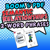 Semantic Relationships (Winter: Agent-Action)