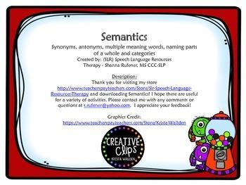 Semantics Fun 2