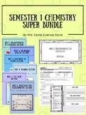 Semester 1 Chemistry Super Bundle