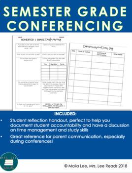 Semester 1 Grade Conferencing