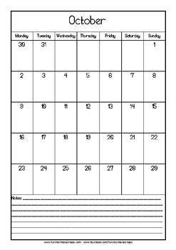 Semester 2 2017 Calendar