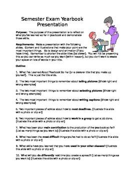 Semester Exam Yearbook Presentation