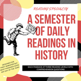 Semester of Daily Readings in History--Bundle of Bundles