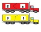 Semi Truck ABC Puzzle