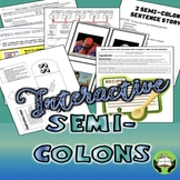 Semi colons- Interactive Practice for Older Students- Grad