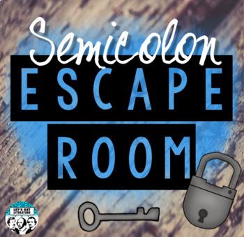 Semicolon Review Escape Room